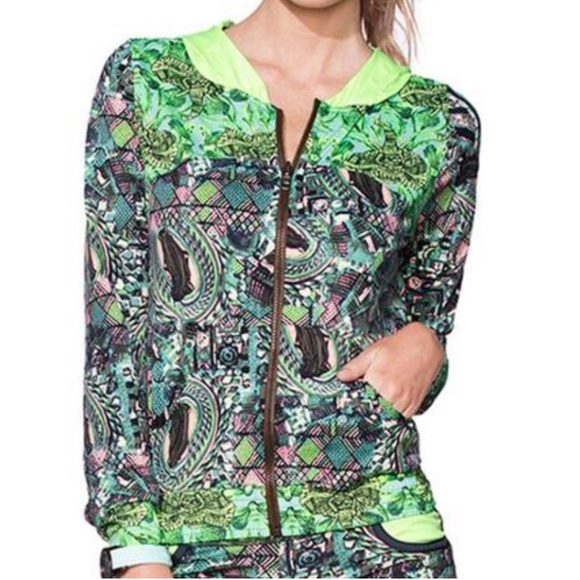 032da40a446d Maaji Jackets & Coats | Coastal Hill Track Jacket Neon Bold Print S ...